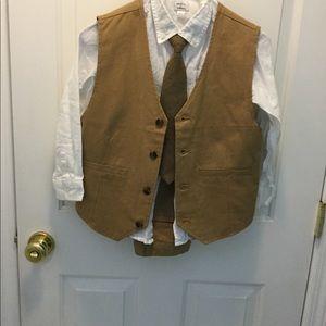 Gymboree special occasion vest bundle